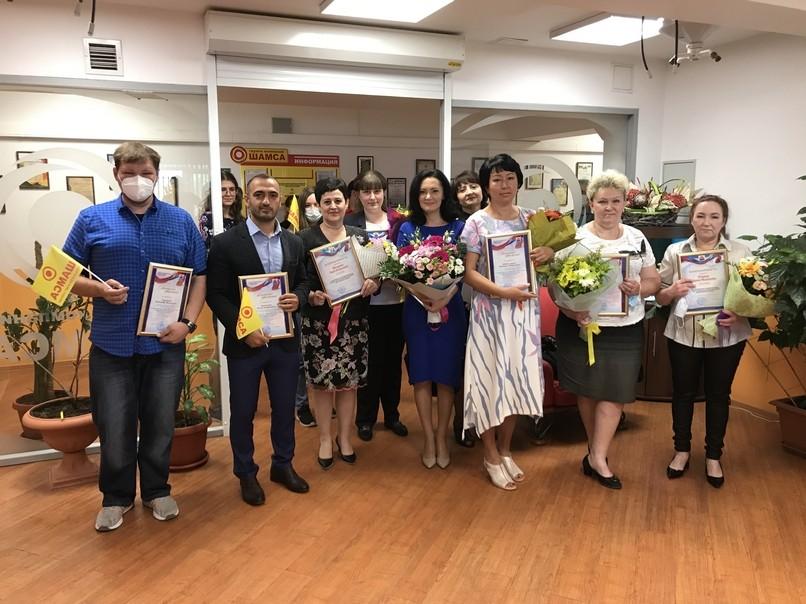 Высокие награды сотрудникам ГК «Шамса» были вручены в честь дня работников торговли