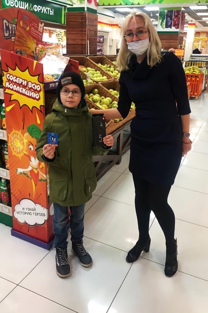 09.11.2020 состоялось награждение первых победителей акции «Овощи супергерои»!