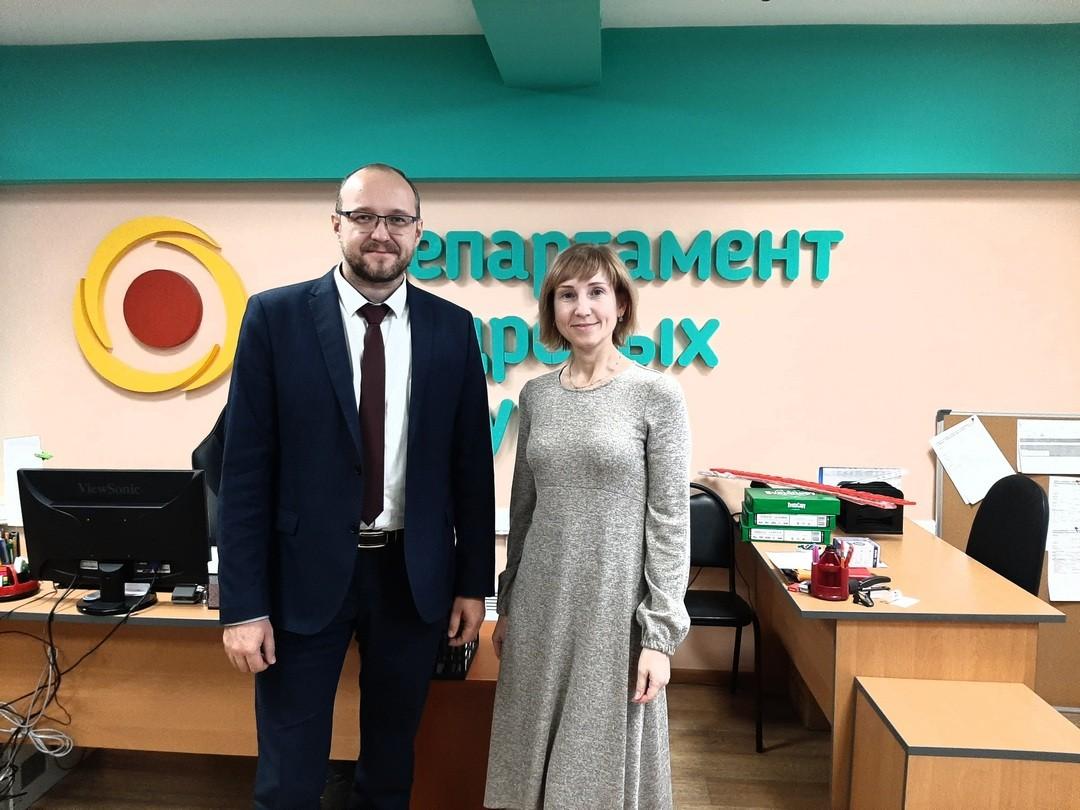 Состоялась встреча с заместителем министра труда и развития кадрового потенциала Камчатского края Иваном Головановым