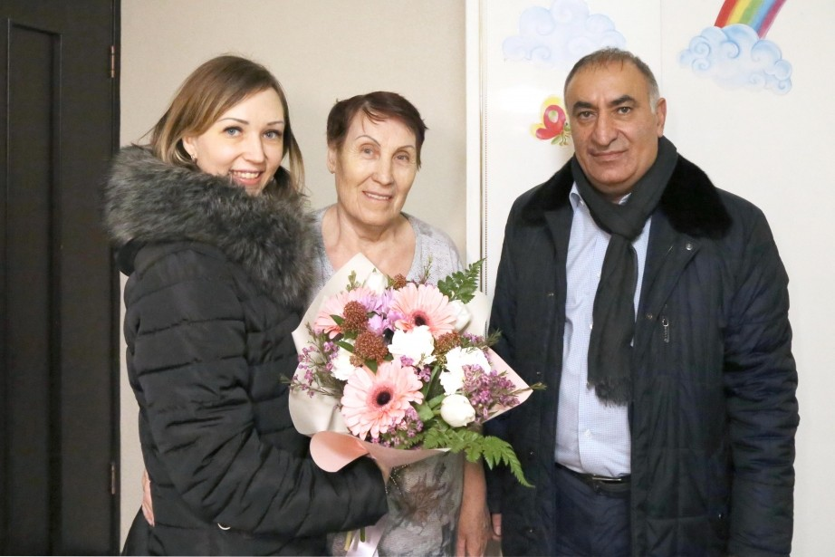 Восстановить квартиру после пожара помог одинокой пенсионерке депутат краевого парламента Рашид Шамоян