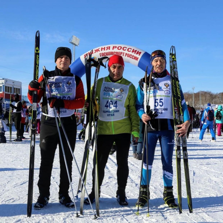 39-ая всероссийская массовая лыжная гонка «Лыжня России»